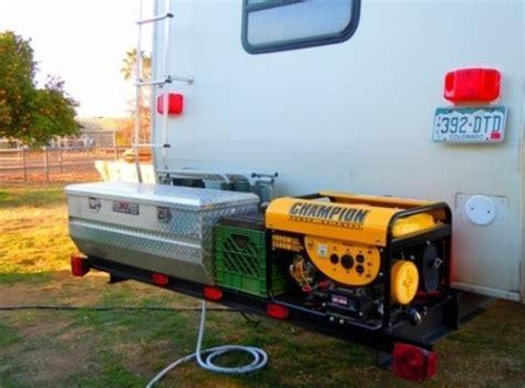 Rv Bumper Cargo Rack by Rv Cargo Deck Mod Idea Custom Built Free Up Rv Space