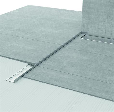 box doccia a filo pavimento profilpas un nuovo sistema per concepire l area doccia