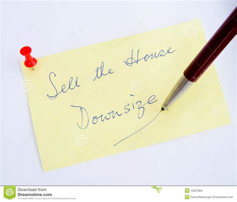 downsize image financial problems downsize stock images image 12257964