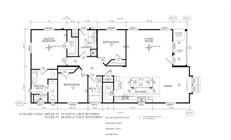 modular home floor plans california manufactured home california silvercrest bradford bd 17