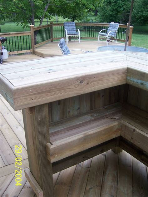 diy outdoor wood countertops 17 best images about outdoor bar on diy outdoor bar patio ideas and bars