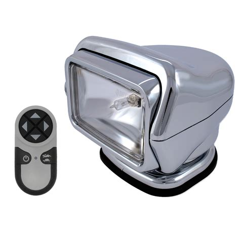 go light magnetic base golight stryker searchlight w handheld wireless remote