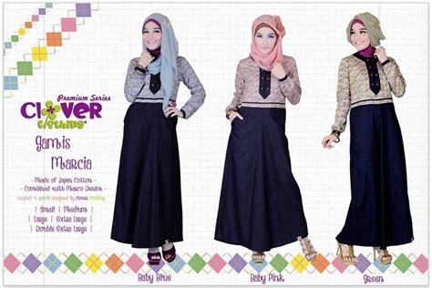 Andara Kemeja Katun Jepang Premium Season Iii koleksi busana muslimah baju muslim gamis marcia clover clothing