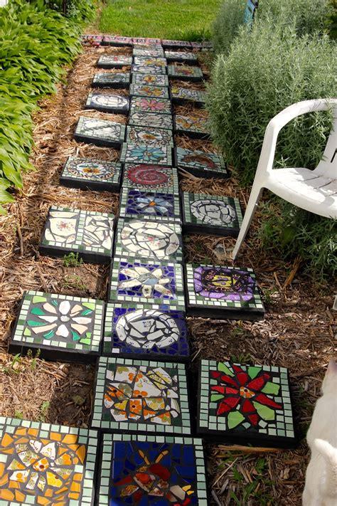 decorative stepping stones   blow  mind