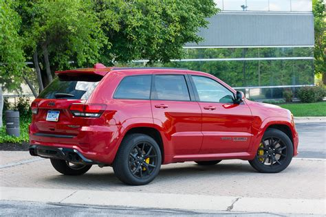 2018 Jeep Grand Review by 2018 Jeep Grand Trackhawk Review Behold The