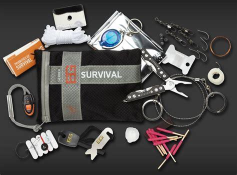 survival gear kits personal survival kits gerber blades grylls series ultimate survival kit