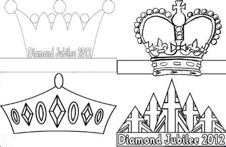 crown template ks1 free diamond jubilee teaching resources posters