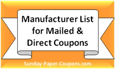 sunday paper printable grocery coupons sunday paper coupons inserts free coupons online