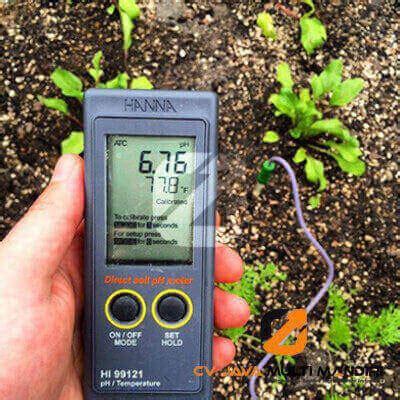 Fungsi Alat Ukur Ph Tanah jual pengukur ph tanah portabel hi99121 instrumen pengujian