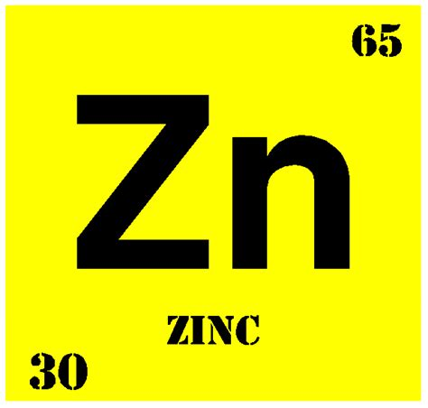 Periodic Table Zn by 8tlcelements Zinc