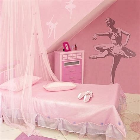 Pink Themed Bedroom - cool kids bedrooms with flower theme