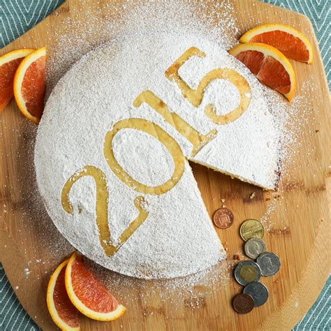 desserts eaten on new year vasilopita new year cake tara s multicultural table