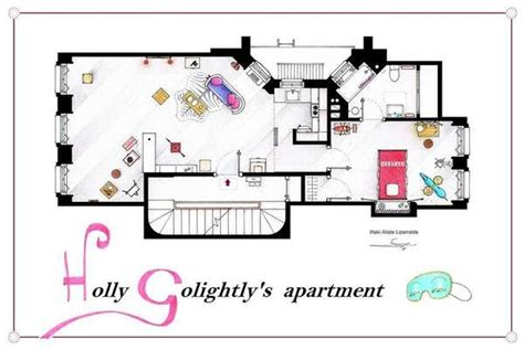 Apartment Layouts From Tv Shows Sitcom Floor Plan Replications Apartment Floor Plans