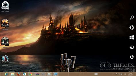 themes for windows 7 harry potter harry potter theme for windows 7 and 8 ouo themes
