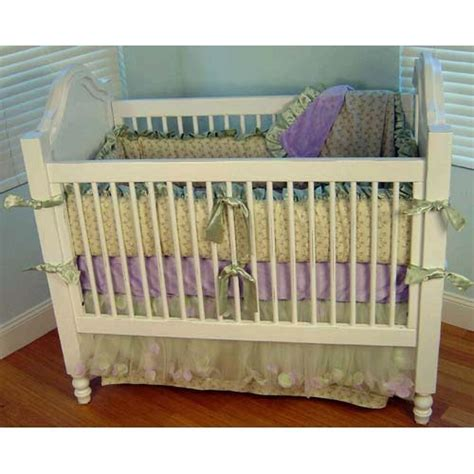 Crib Bedding Safety Quot Lilac Trellis Crib Bedding Set Use Without Bumper For Safety Quot Living Lullaby Designs