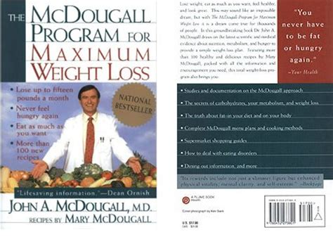 Maximum Loss by The Mcdougall Plan For Maximum Weight Loss