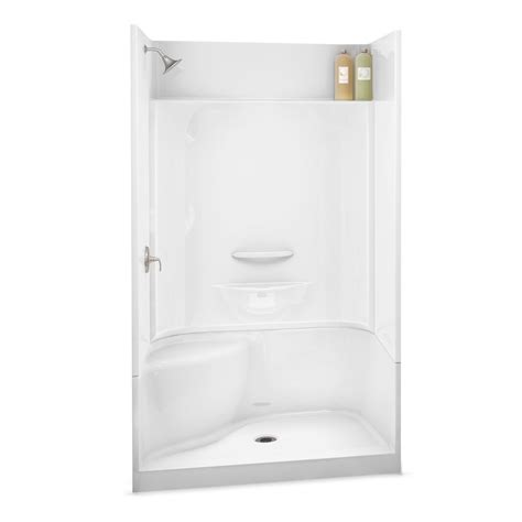 Aker Showers by Kds 3448 Alcove Shower Aker By Maax