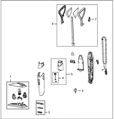 shark navigator parts diagram shark navigator lift away parts shark rotator nv682