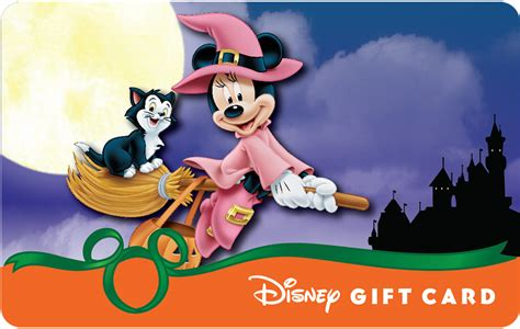Gift Card Castle - new halloween designs in park halloween disney gift cards have glowing surprise