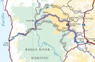 Oregon Rivers Map by Rogue River Oregon Map Submited Images