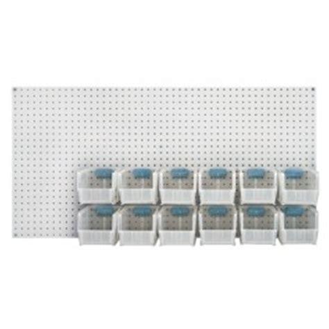 pegboard storage containers q peg board plastic storage bin kit pb c qus230cl bin