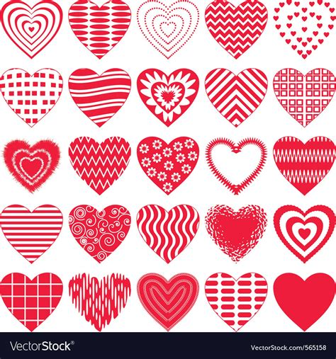 crafts stock images royalty free images vectors valentine hearts royalty free vector image vectorstock
