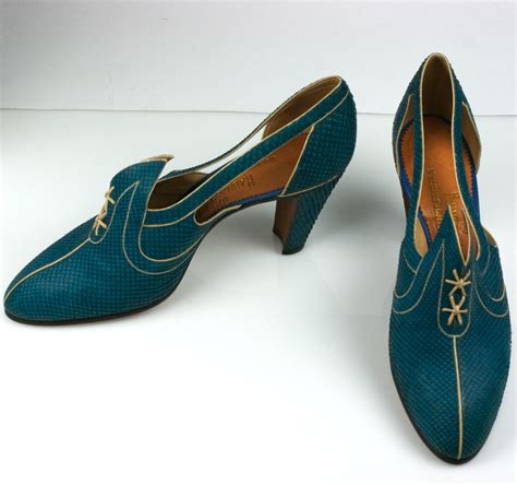 electric shoes extraordinary electric blue snakeskin deco shoes at