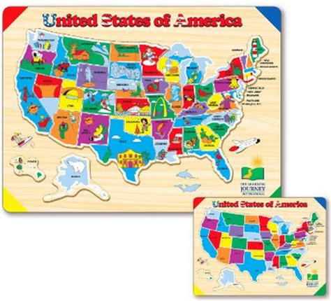 deluxe usa map puzzle deal up to 50 puzzles southern savers