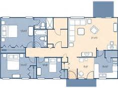 Fort Carson Housing Floor Plans by Fort Carson Family Homes Apache Village 3br E1 E6