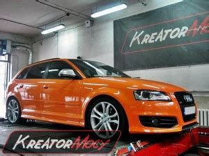Audi S3 Chiptuning by Chip Tuning Audi S3 8p 2 0 Tfsi 265 Km Kreator Mocy
