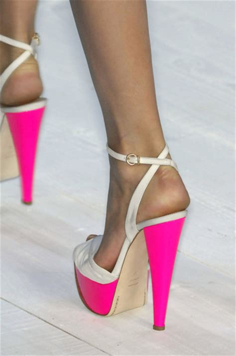 shoes heels pink high straps beautiful