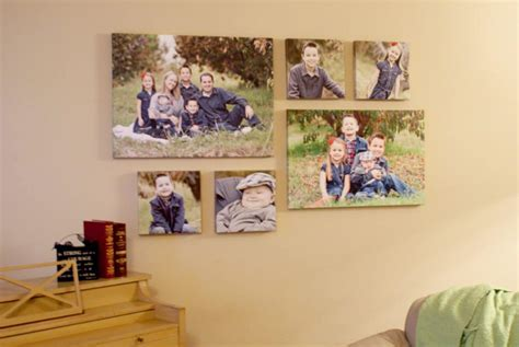 how to hang canvas without frame how to hang a picture perfectly every time simple tip by