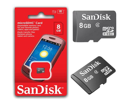Mini Micro Sd sandisk 8gb micro sd memory tf mini sd card 8 gb fits all