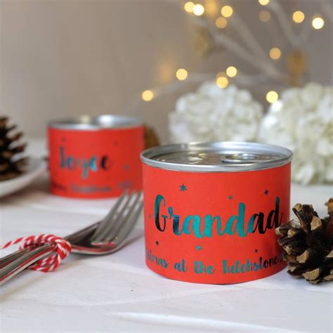 alternative personalised christmas crackers by auntie mims