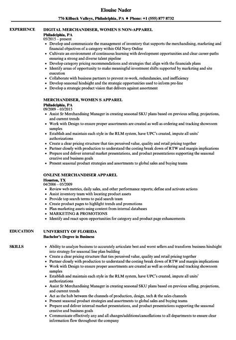 Apparel Merchandiser Sle Resume by Apparel Merchandiser Sle Resume Quantitative Trader Cover Letter