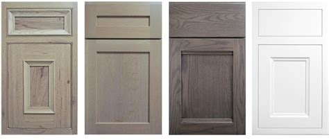 grey stained cabinets like the lighter grey 2nd but the flat drawer profile of the 3rd grey stained cabinets like the lighter grey 2nd but