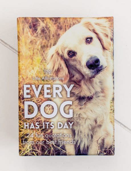 every dogs every has it s day affirmations publishing house