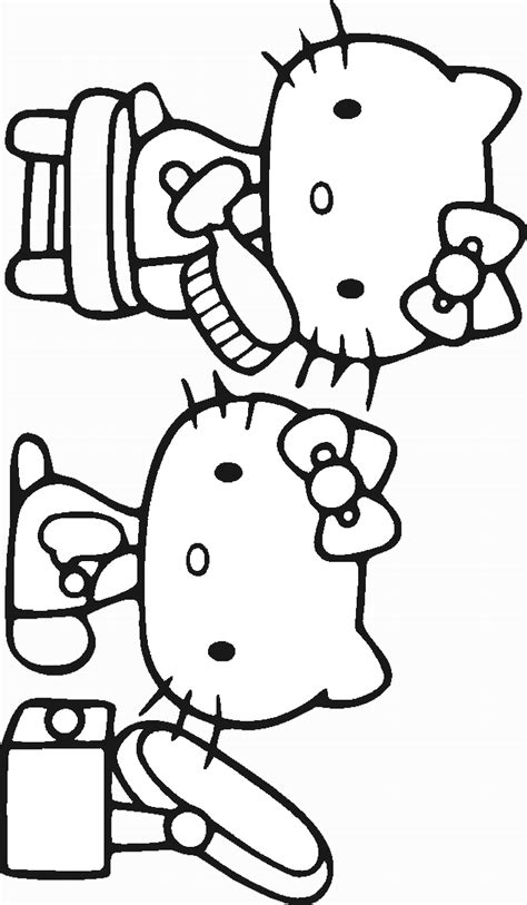 hello kitty baking coloring pages hello kitty baking a cake coloring pages