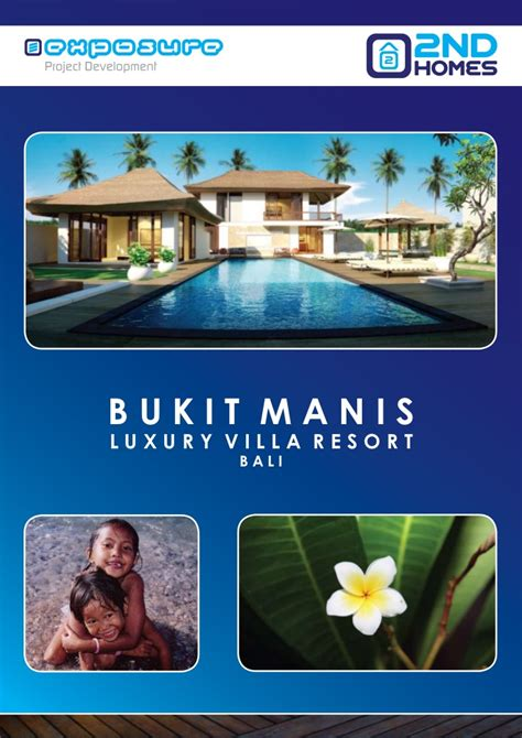 brochure luxury villa resort bukit manis bali