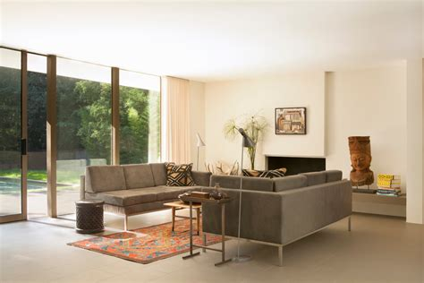One Sofa Living Room by One Arm Sofa Living Room Modern With Area Rug Artwork