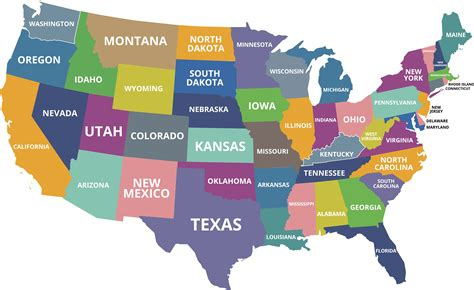united states what are the smallest states in the u s