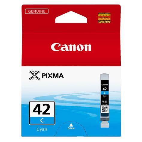 Canon Cartridge Cli 42 Cyan canon cli 42 ink cartridge cyan officeworks
