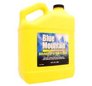 Car Brake System Flush Blue Mountain Brake System Flush