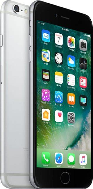 apple apple iphone 6s plus with 32gb memory prepaid cell phone space gray 6416b best buy
