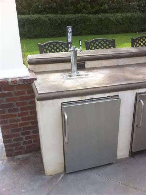 Small Home Bar With Kegerator Next House Outdoor Kegerator Nesting