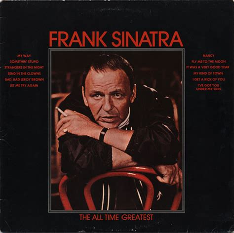 Latifah Dies Like Frank Sinatra On New Album by Frank Sinatra The All Time Greatest At Discogs