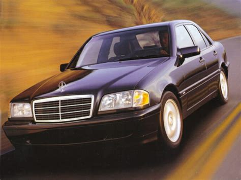 1999 mercedes benz c class overview cars com
