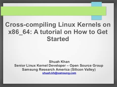 assembly tutorial x86 linux tutorial cross compiling linux kernels on x86 64