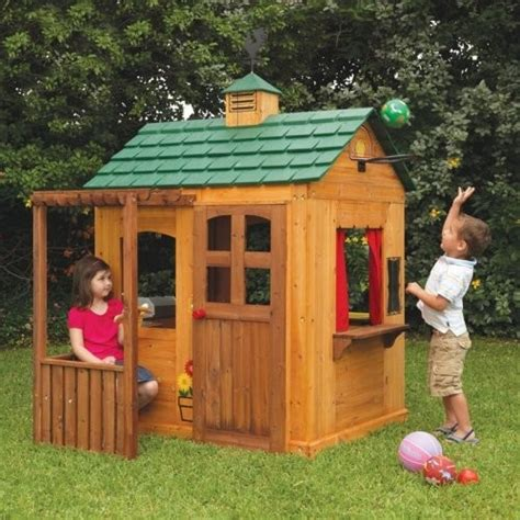 outdoor playsets for small spaces kidkraft activity playhouse contemporary outdoor playsets