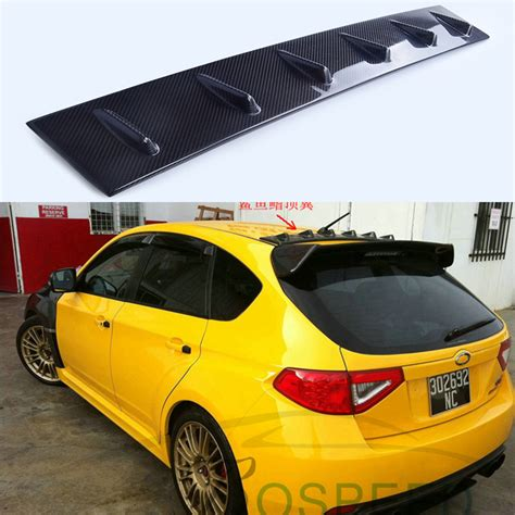 subaru hatchback wing subaru impreza rear spoiler reviews shopping